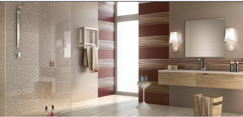 Porcelain Tiles Bathroom