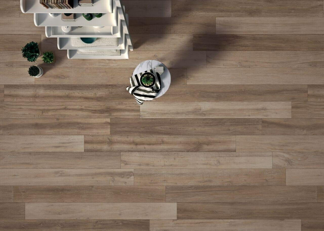 Westminster wood effect tiles