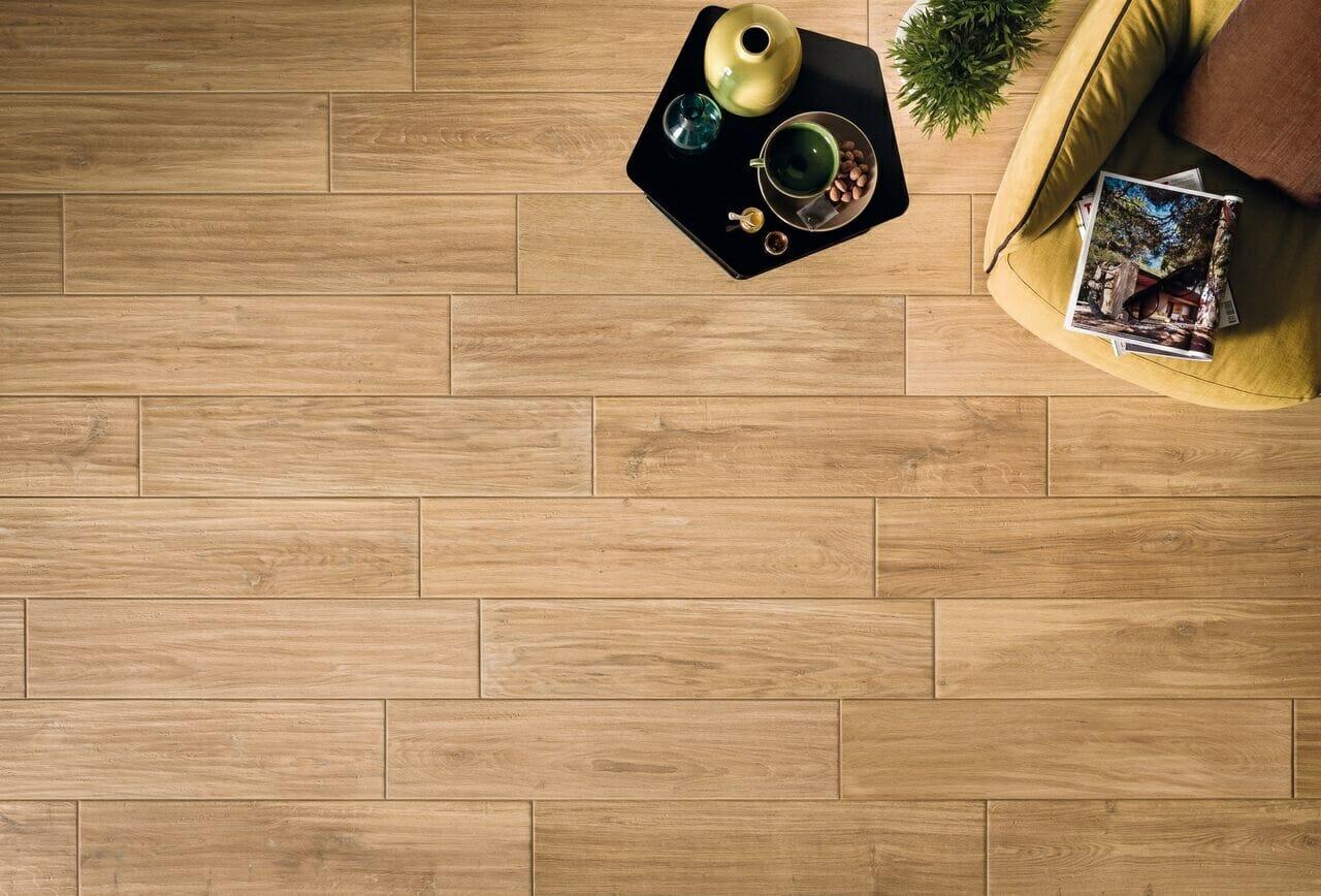 Windsor wood effect porcelain tiles